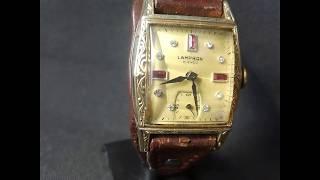 Винтажные часы Арт Деко 1940 г.Vintage Clock Art Deco 1940
