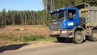 Аварийная транспортировка грузовика - самосвал SCNIA(, 2016-11-05T06:29:50.000Z)