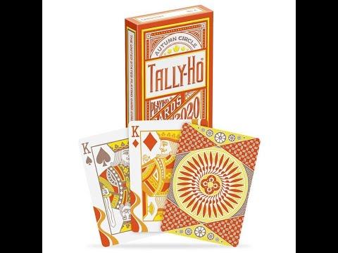 Tally Ho Autumn Circle Playing Cards