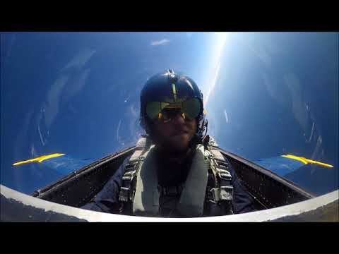 Watch: Times-Union reporter flies high and fast with Blue Angels