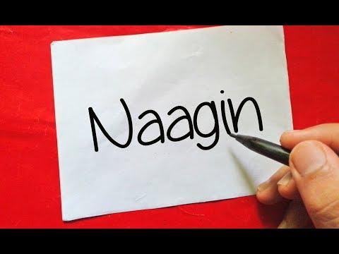 """Naagin Season 3 - How To Turn Words """" Naagin """" Into Cartoon - Wordtoon #44 thumbnail"""