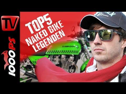 Top 5 - Naked Bike Legenden - Nicht mehr ganz neu aber sehr mächtig
