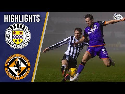 St Mirren Dundee Utd Goals And Highlights