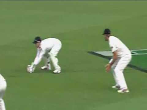 McCullum's disputed catch - courtesy Sky TV - Sport - NZ Herald Videos.flv