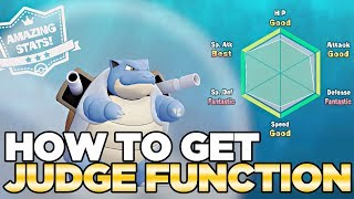 How to Get the Judge Function for IVs in Pokemon Let