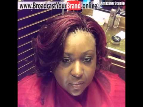 Short Tree Braids Hairstyle - YouTube