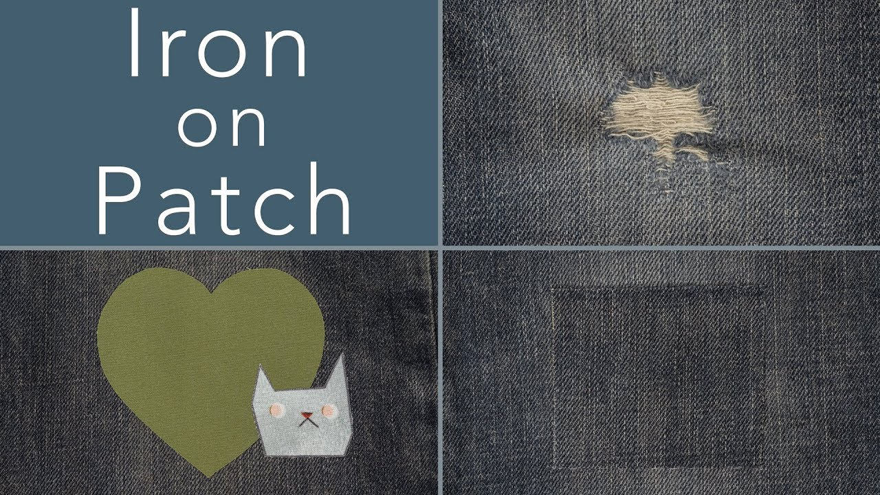 How To Make An Iron On Patch