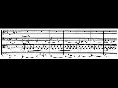Mendelssohn String Quartet No.1, Op.12 Score