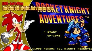 Let's play - Rocket Knight Adventures and more feat. guests! - (LIVE Friday 3rd August 2018 8pm BST) thumbnail