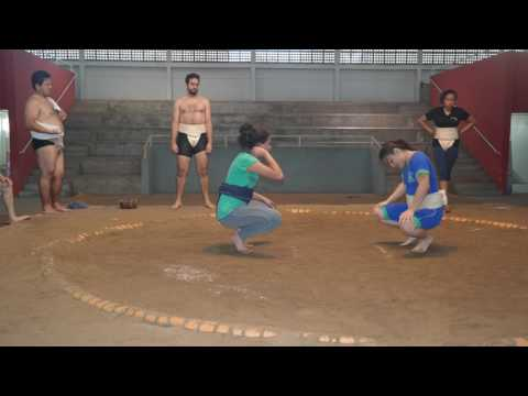 Female sumo wrestling Brazil BBC Outlook January 2017