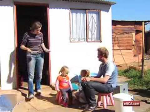 White family moves into shack