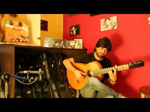 Chicuelo plays the José Ramírez 1972 flamenco guitar for sale