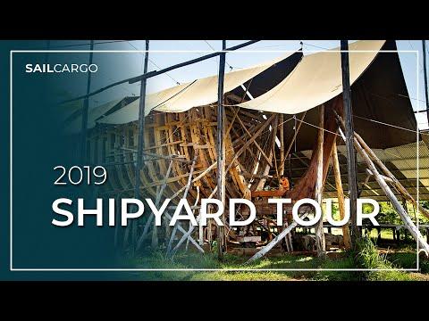 Shipyard Tour 2019 - SAILCARGO INC.