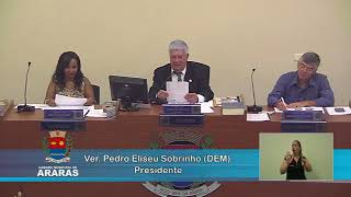 1ª Sessão Ordinária - Câmara Municipal de Araras