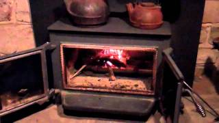 Our Wood Stove & Christmas Decorating