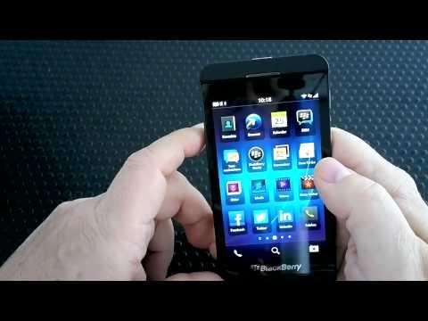 Hands-on: BlackBerry 10 und RIMs Flaggschiff BlackBerry Z10