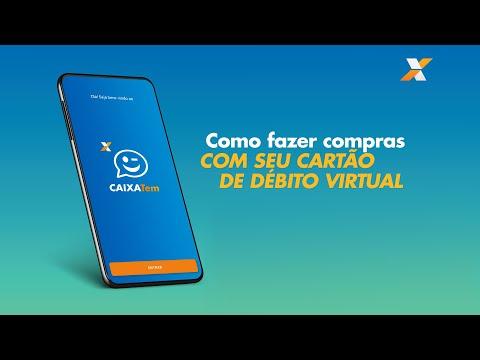 CAIXA Tem - Como usar o cartão de débito virtual e fazer compras pela internet