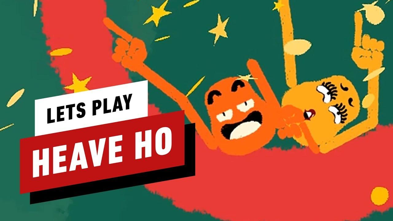 Hier ist, warum Heave Ho unser neues Couch-Coop-Spiel ist - IGN Plays + video
