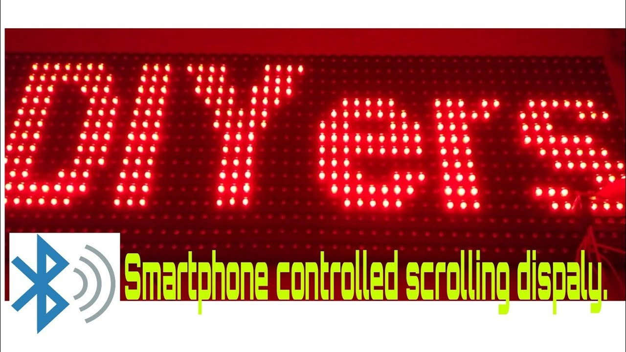 How to Make Scrolling Display Using Arduino and Bluetooth: 4