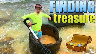 You Won't Believe What I Found!!! Crazy Metal Detector Beach Discovery!