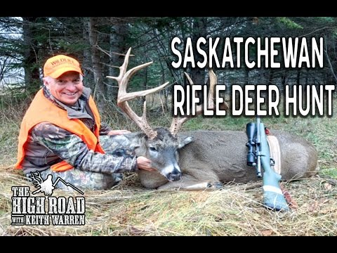 Saskatchewan Rifle Deer Hunting | Woody River 2017