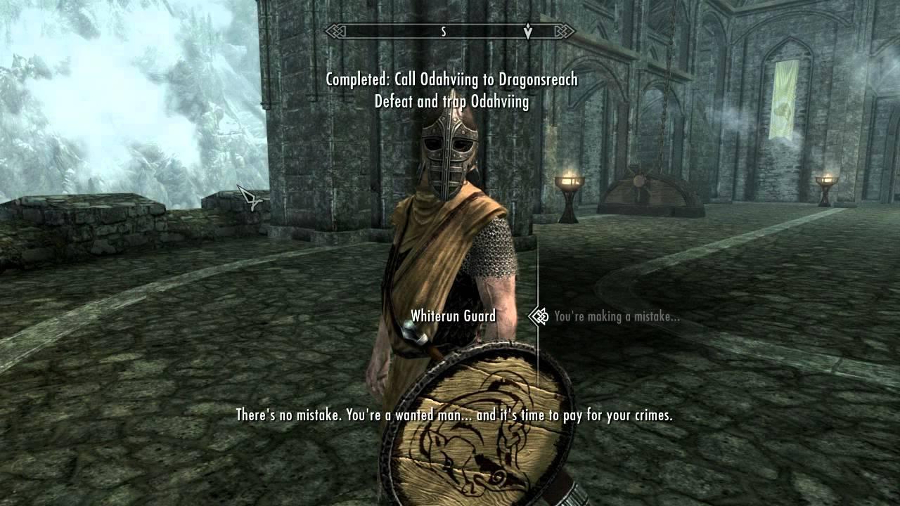 Skyrim Dragon Arrest