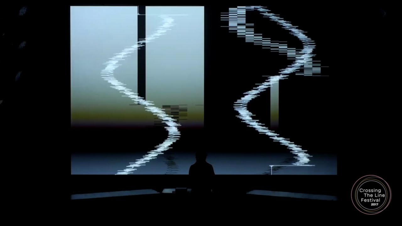 FIAF Crossing The Line Festival 2017 presents Ryoji Ikeda – supercodex  [live set]