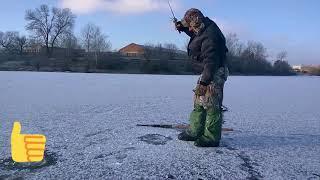 Рыбалка в рогу.на р.Припять.январь.2018г.