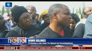 Benue Killings: Indigenes Take Protest To NASS, Demand Justice For Victims