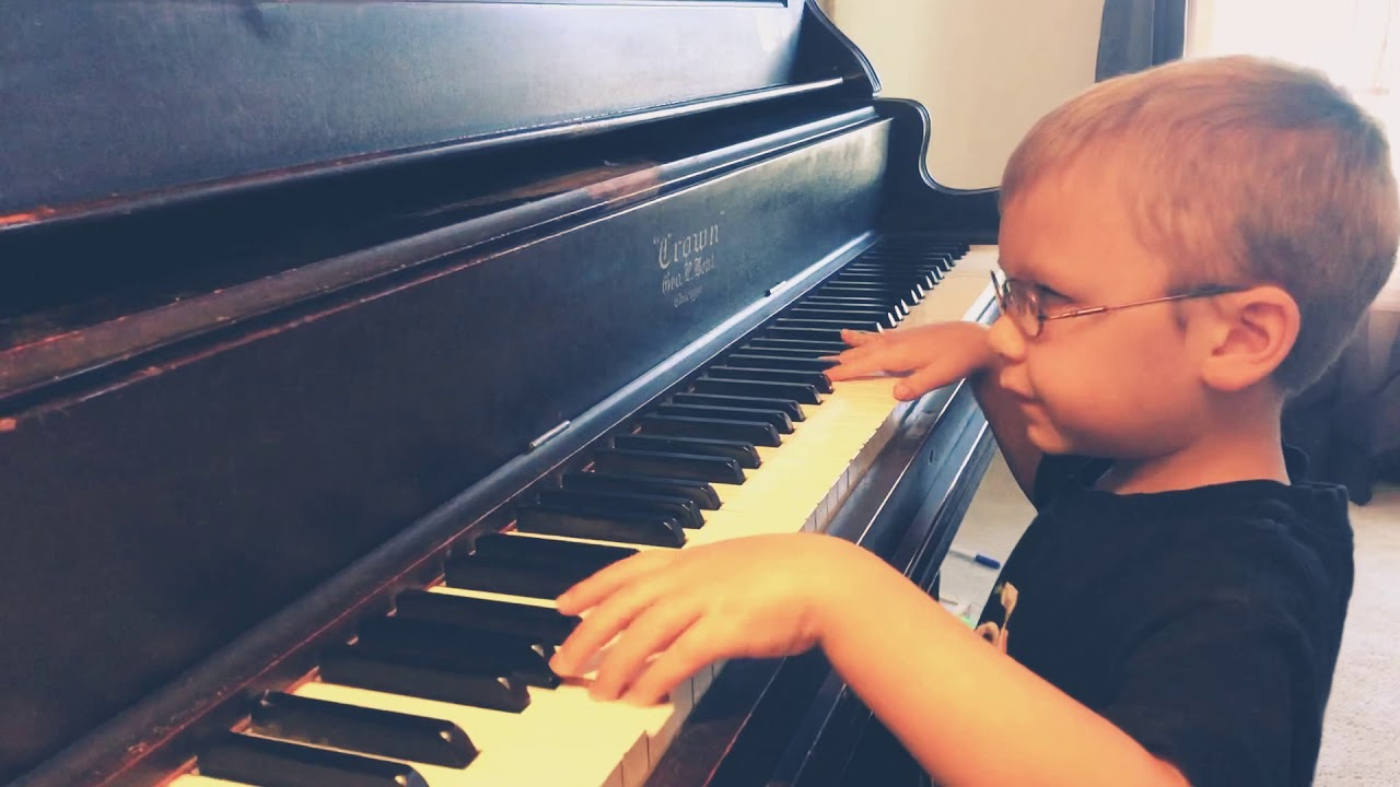 Avett Ray Maness: 6-year-old blind piano prodigy goes viral