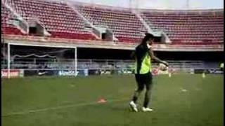 Ronaldinho Cross Bar Challenge