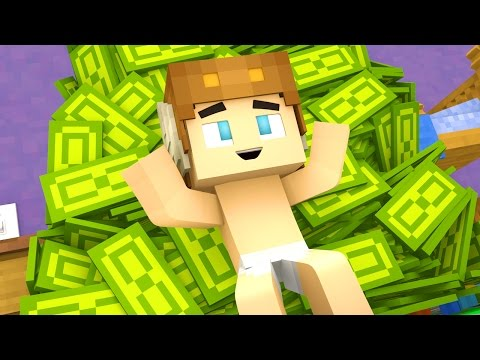 Minecraft Daycare - GETTING RICH ?!