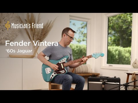 Fender Vintera '60s Jaguar Demo - All Playing, No Talking