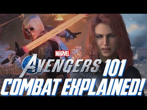 Avengers Project: 101 - COMBAT EXPLAINED! Combo Layout, Skill Tree Details, Heroic Abilities & More!