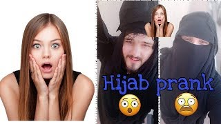 Hijab Prank Don't miss it... ||Never try it again|| 😳