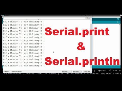 Arduino Serial Print Y Println