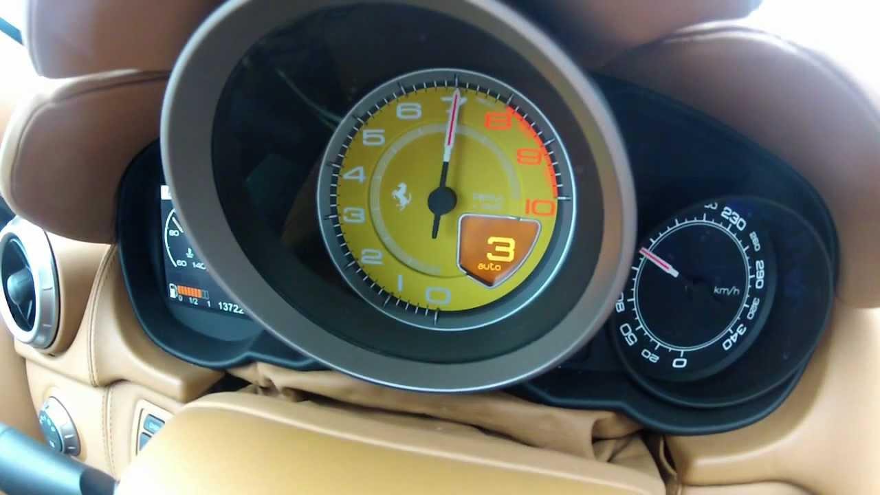 Ferrari California acceleration, sound, driving and more ...