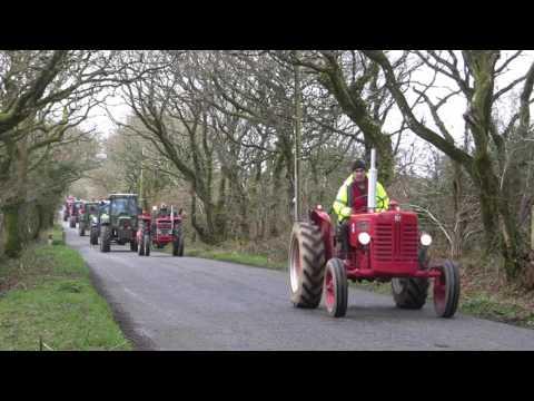 2017 Roche YFC Charity Tractor Run