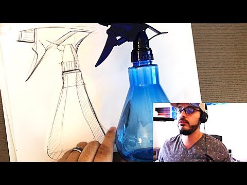 How to sketch ANY product using this ONE trick NO JOKE