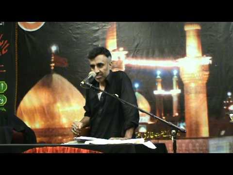 akhtar khokhar bcn 21 08 2011 shahadat mola ali a s  20 ramazan in spain barcelona  day 1  5