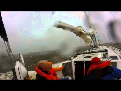 Dauphin Island Regatta disaster sailboat footage