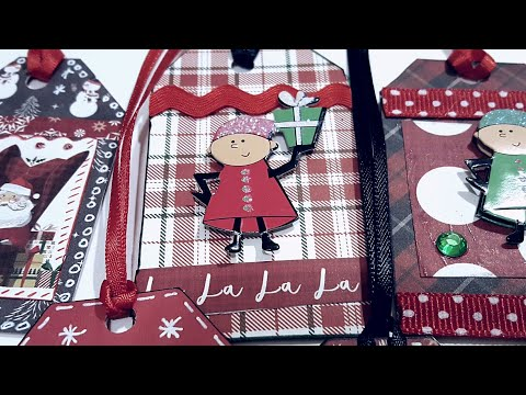 Mini Christmas Gift Tags