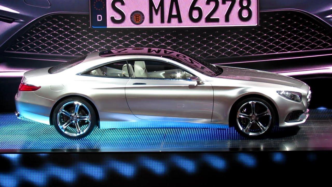 2015 MercedesBenz SClass Coupe  Exterior  Debut at 2013