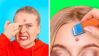 USEFUL SCHOOL HACKS THAT WILL SAVE YOUR LIFE || Funny School Tricks by 123 GO! GOLD