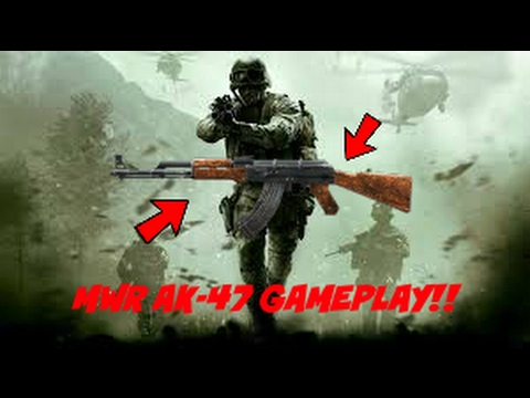 MWR AK-47 GAMEPLAY!! (Modern Warfare Remastered)
