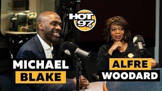 Michael Black & Alfre Woodard On Marijuana, Amazon NYC, MTA & Future President Run?