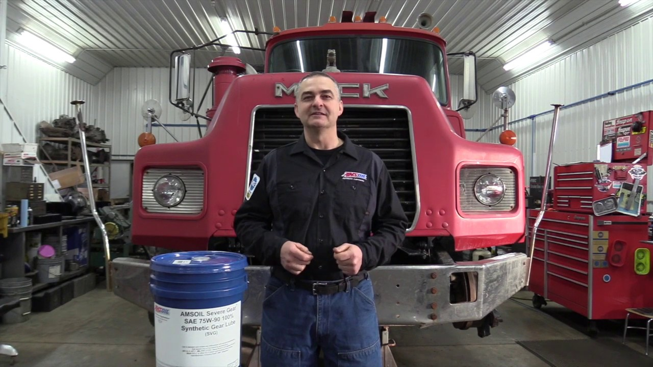 MACK DM690 Transmission & Differential Fluid Change