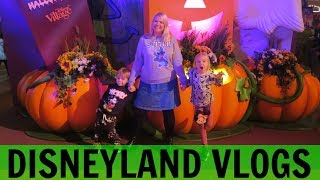 DISNEYLAND PARIS VLOGS 1: Halloween At Disney Village & Santa Fe Room Tour!