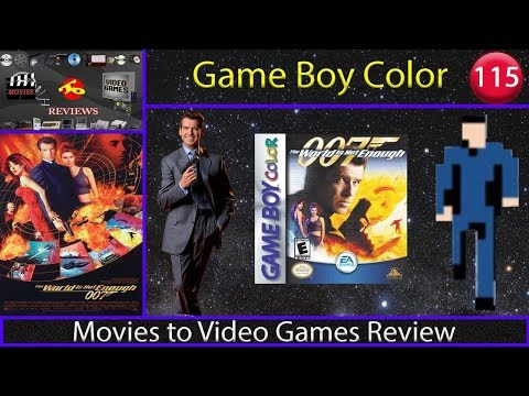 Movies to Video Games Review - The World is Not Enough (GBC)