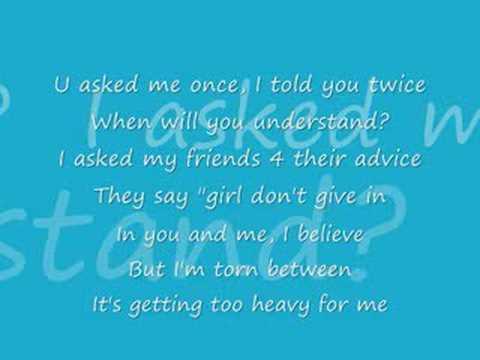 3lw~Getting too heavy{with lyrics}